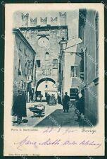 Rovigo Città Porta San Bartolomeo cartolina XB0425