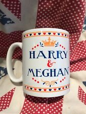 Prince Harry & Meghan Markle COMMEMORATIVE engagement mug funny GIFT royal