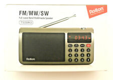 Rolton T50 MKII Full-wave Band FM/MW/SW Multimedia Radio Speaker Music Red