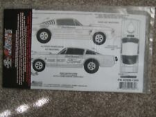 Slixx Dick Brannan- Stark Hickey Mustangs 1965 Bronco and Goldfinger Pndbm1984