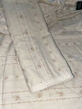 Ralph Lauren CECILIA/VILLANDRY STRIPE King Fitted 1 Standard Pillowcase Crochet