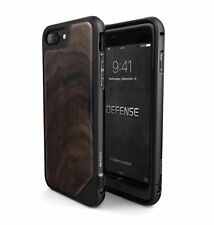 iPhone 8 &  7 Wooden Case, X - Doria Defense, Lux - Military Grade Drop Tested