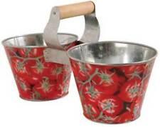 Esschert Design Zwillingseimer Pflanztopf Tomaten Design