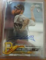 2018 Topps Chrome Pittsburgh Pirates rookie Trevor Williams autograph