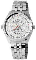 Classique Herrenuhr Weiß Silber Handaufzug Metall Armbanduhr XRP7002200006
