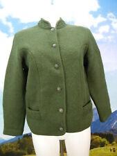 Sigi Scheiber Tyrol neuwertig grün Schurwolle klasse Trachtenjacke Jacke Gr.38