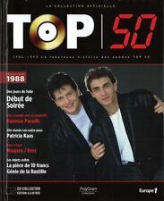 CD Livre Neuf Top 50 Compil Début de Soirée Goldman Kaas Hallyday Paradis 1988