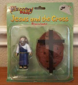 Renewing Minds Beginners Bible: Jesus and Cross Toy Action Figure Figurine