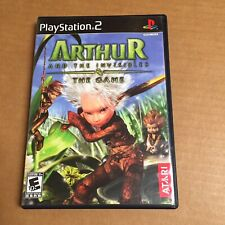 Arthur and the Invisibles (Sony PlayStation 2, 2007) Ps2 Complete Tested