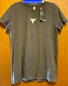 Women's Under Armour Project Rock Mini Brahma Bull T-Shirt #1331282  Size XS
