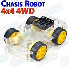 Kit Chasis 4WD Robot Smart Car Coche 4 ruedas - Arduino Electronica DIY