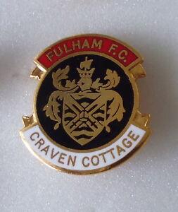 FULHAM Football Enamel Pin Badge CRAVEN COTTAGE rbw