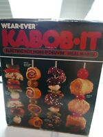 Vintage Wear Ever KABOB IT Model 74000 Shish Kabob NEW Condition Never Used