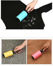 Lint Roller Reusable Washable Sticky Silicone Dust Hair Remover Cleaning Brush