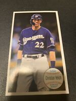 CHRISTIAN YELICH 2020 TOPPS ARCHIVES 1964 GIANT SET #640-CY MILWAUKEE BREWERS