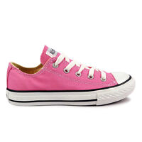 Youths Converse Pink Chuck Taylor All Star Oxford Trainers