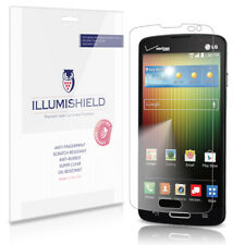 iLLumiShield Phone Screen Protector W Anti-bubble/print 3x for LG Lucid 3