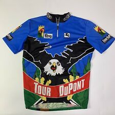Vintage 1994 Tour DuPont Banner Group Bald Eagle Giordana Cycling Jersey L