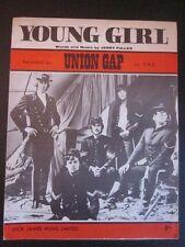 UNION GAP - 60's Sheet Music - YOUNG GIRL