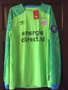 PSV Endhoven Umbro Goalkeepers Shirt Jersey 2018/19 Large  Mens New