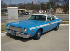 Greenlight 1:43 1975 Plymouth Fury New York City Police Dept