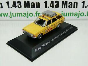 SER22G 1/43 SALVAT Vehiculos Inolv. Servicios: Dodge 1500 Rural ACA (1978)