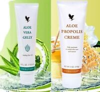 Aloe Vera Gelly & Creme Propolis pour Visage et Corps Skin Cream Forever NEUF ✅