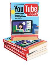 YouTube Celebrity ( eB00k ) + 10 Additional Free eBooks ( PDF )