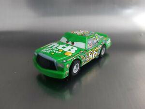 Micro Scalextric Car Disney Pixar Cars Piston Cup Chick Hicks Working 1:64