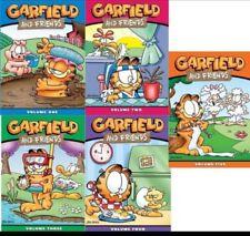 Garfield and Friends: Complete Series Season Vol.1.2.3.4.5 (DVD,15-Disc Box Set