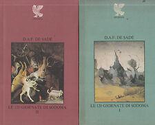 Le 120 giornate di Sodoma. D.A.F. De Sade. Guanda. 1979. D9