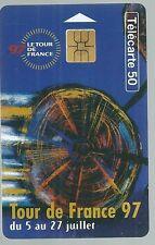 Télécarte carte téléphonique Tour de France 1997 cyclisme sport vélo bicyclette