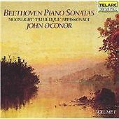 Beethoven: Piano Sonatas Volume 1 John O'Conor Audio CD