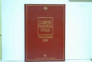 Il libro dei francobolli buca delle lettere D'Italia anno 1989