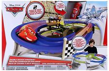 Disney Cars Cars Stunt Racers Double Decker Speedway ** GREAT GIFT **