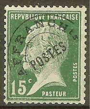 "FRANCE STAMP TIMBRE PREOBLITERE N° 65 "" PASTEUR 15c VERT"" NEUF xx TTB"