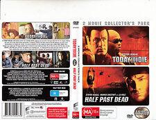 Today You Die-2005/Half Past Dead-2002-Steven Seagal-[2 Disc]-Movie-DVD