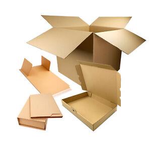 Boîtes en carton, boîtes aux lettres, emballages pour livres, tube postal carré