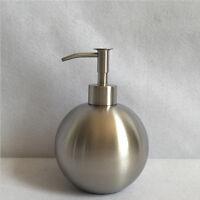 500ml Stainless Steel Seifenspender Ball Shampoo Spender Seife Soap Dispenser