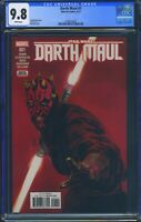 Star Wars Darth Maul 1 (Marvel) CGC 9.8 White Pages Cullen Bunn story