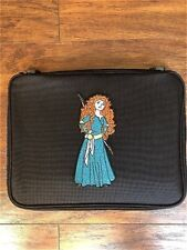 Embroidery Brave Princess Merida Pin Trading Book Bag for Disney Pin Collections