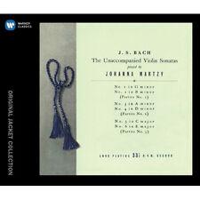 JOHANNA MARTZY - J.S.BACH THE UNACCOMPANIED VIOLIN SONATAS BWV 1001~1006 SEALED