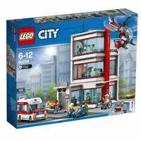 LEGO 60204, Lego City Hospital, CITY, In Hand, NIB, Unopened RETIRED, VERY RARE!