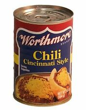 Worthmore Chili Cincinnati Style, 10-ounce Cans (Pack of 6)