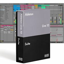 Ableton LIVE 10 SUITE Music Production Recording Software DAW Mac PC Boxed 2018