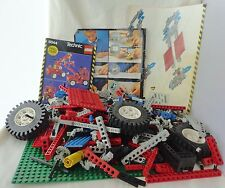 7 Lbs of Lego, Large Carry Case, Booklets from Technic Sets, 8044, 8865 & 8700