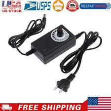 Ac To Dc Adapter 3 12v 2a Adjustable Power Supply Motor Speed Controller Us