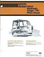 Equipment Brochure - Case - 1150C Hydraulic Angle Tilt Pitch Dozer c1978 (E4133)