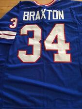 Buffalo Bills Jim Braxton custom unsigned jersey