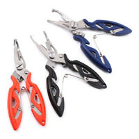 Stainless Steel Fishing Pliers Scissors Line Cutter Remove Hook Tackle Tool Kits